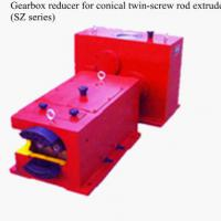 Gearbox  for conical twin-screw rod extruder