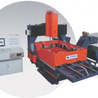 Large picture CNC Plate Drilling Machine