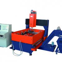 Large picture CNC Gantry Movable Plate Drilling Machine
