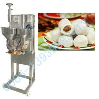 Large picture stuffed Meatball Forming Machine0086-13939083413
