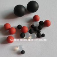 Large picture ground rubber ball