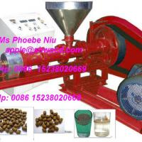 Large picture floating fish feed pellet machine