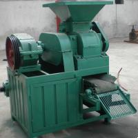 Large picture egg shape charcoal briquette machine