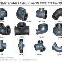 Large picture malleable iron pipe fittings