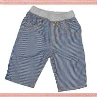 Large picture striped casual children long pants