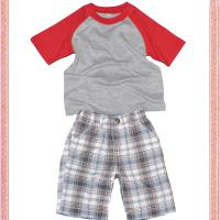 Large picture boys garments set-t shirt and shorts