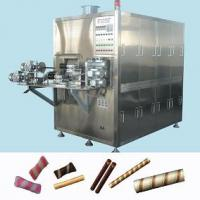 Large picture Automatic Double head egg roll machine