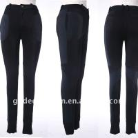 Large picture ladies knitted pants