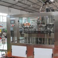 Large picture beer washing-filling-capping 3 in 1 machine