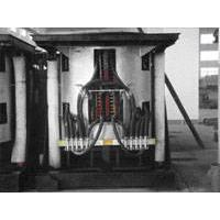 Large picture induction furnace