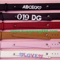 Large picture Leather bracelet,leather wristband,PU wristbands