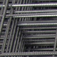 Large picture reinforcing steel mesh