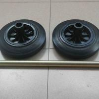 Large picture Wheels/Axle Set For Waste Bins