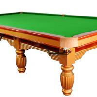 Large picture snooker table