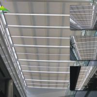 Electric roof blinds