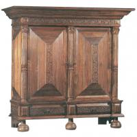 Large picture Mahogany Belgian Armoire