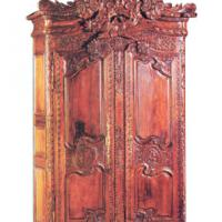 Large picture Mahogany French Wedding Armoire
