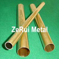 Large picture brass tube