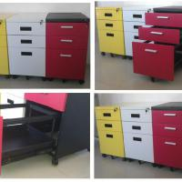 Large picture filing and storage cabinet