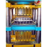 Large picture automatic hydraulic brick machine