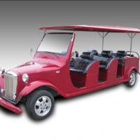 Large picture electric utility golf cart