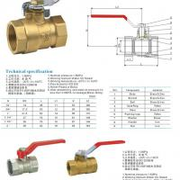 Large picture Brass Ball Valve