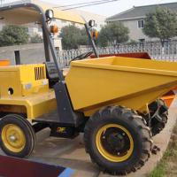 Large picture 1.5ton mini dumper with hydraulic tipping hopper