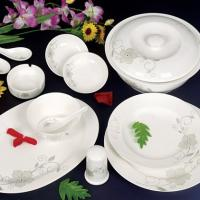 Large picture porcelain tableware