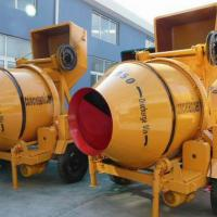 Large picture series concrete mixer