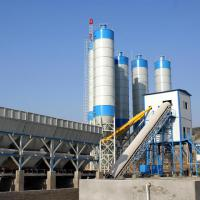 Large picture concrete batching plant