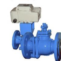 Large picture CAST STEEL LINER OF PTFE OR FEP BALL VALVE