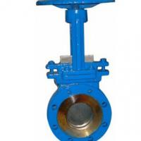 Large picture CARBON   STAINLESS STEEL KNIFE GATE VALVE