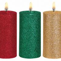 Large picture glitter powder for candle decoration