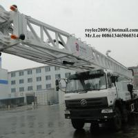 Large picture hydraulic truck mounted water well drilling rig