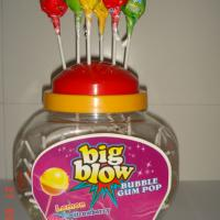 Large picture Bubble gum lollipop(jar)