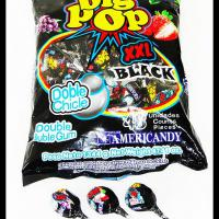 Large picture Bubble gum lollipop(3 Flavors,mouth printing)
