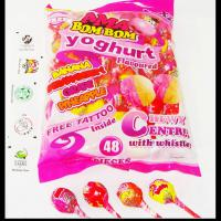 Large picture Bubble gum lollipop(Two Flavors mixed one pcs )