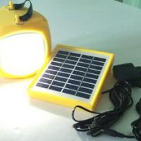 Large picture solar lantern with mobile phone charger