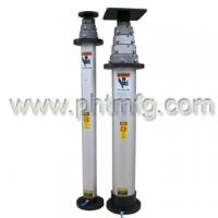Large picture aerial telescopic mast cctv mast mounting