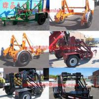 Large picture Cable Conductor Drum Carrier/Cable Reel Trailer