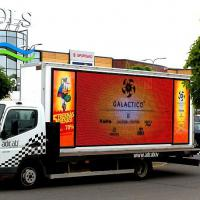 Large picture Mobile Led Screen advertising truck