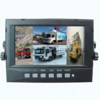 "Large picture 7"" WATER-PROOF quad MONITOR"