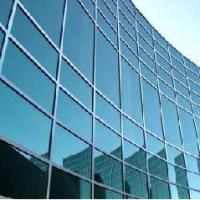 Large picture window glass/curtain wall glass