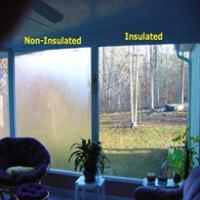 Large picture tempered insulated glass