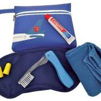 Large picture passenger amenity and comfort kit