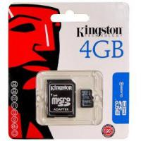 Large picture Kingston Micro SD 4GB Memory Card