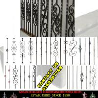 Large picture Mild Steel Baluster Design Third