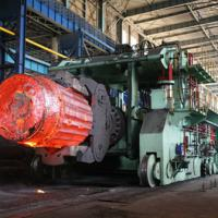 100 ton rail bound forging manipulator