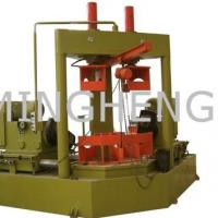 Large picture double end elbow pipe beveling machine