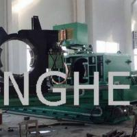 Large picture induction heat carbon steel pipe bending machine